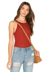 Obey Barbados Tank Red