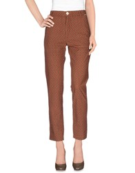Bsbee Trousers Casual Trousers Women Brown