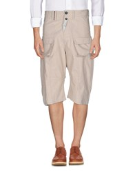John Galliano 3 4 Length Shorts Beige