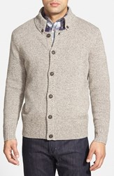 Men's Maker And Company Marled Button Front Cardigan Oatmeal