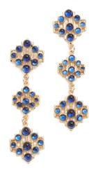 Lulu Frost Energy Earrings Gold Blue