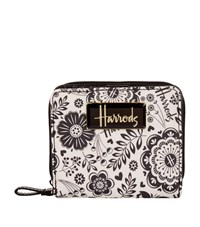 Harrods Botanical Square Wallet Unisex