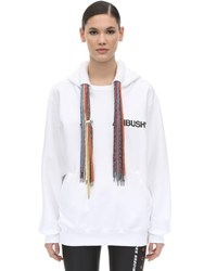 Ambush Oversize Cotton Sweatshirt Hoodie White