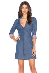 Love Moschino Shirt Dress Blue