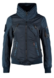Khujo Summer Jacket Navy Dark Blue
