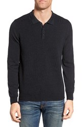 Singer Sargent Men's Retro Wool Polo Sweater