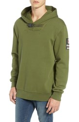 Scotch And Soda Explorer Clip Buckle Hooded Pullover Combo C