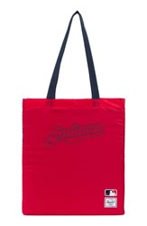 Herschel Supply Co. Packable Mlb American League Tote Bag Blue Cleveland Indians