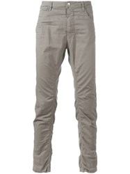 Poeme Bohemien Tapered Trousers Grey