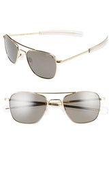 Randolph Engineering Men's 52Mm Polarized Aviator Sunglasses