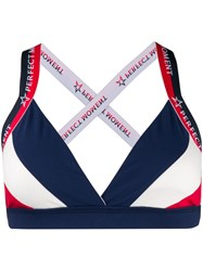 Perfect Moment Allos Sports Bra Blue