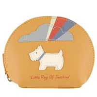 Radley Little Ray Of Sunshine Small Leather Coin Purse Yellow
