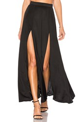 Wyldr Dream Night Maxi Skirt Black