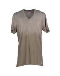 Authentic Original Vintage Style Topwear T Shirts Men Grey