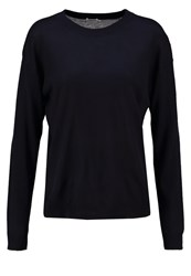 Filippa K Jumper Navy Dark Blue