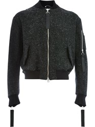 Matthew Miller Back Pocket Bomber Jacket Black