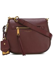 Marc Jacobs Small Recruit Nomad Satchel Bag Brown