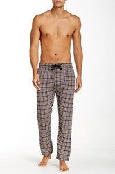 Bottoms Out Plaid Woven Sleep Pant Blue