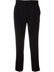 Paul Smith Cropped Trousers Black