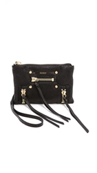 Botkier Logan Cross Body Wristlet Black