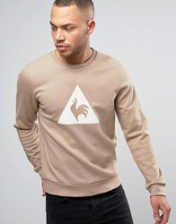 Le Coq Sportif Brown Sweatshirt With Large Logo In Brown 1711095 Brown