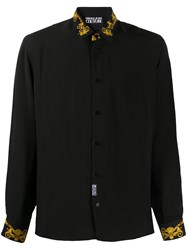 Versace Jeans Couture Long Sleeve Baroque Print Shirt 60