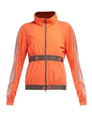 Adidas By Stella Mccartney X Parley For The Oceans The Run Performance Jacket Orange