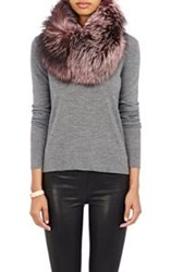 Lilly E Violetta Fur Cowl Pink