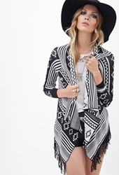 Forever 21 Boho Darling Fringed Cardigan