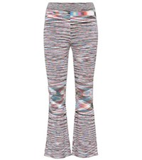 Missoni Striped Cropped Wool Trousers Multicoloured