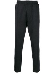Low Brand Pull On Straight Leg Trousers Grey