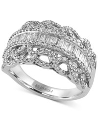 Effy Collection Classique By Effy Diamond Ring 1 Ct. T.W. In 14K White Gold