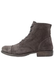 Pier One Laceup Boots Grey