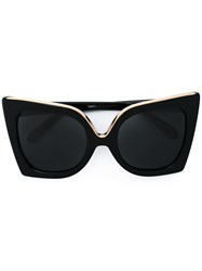 N 21 No21 Square Frame Sunglasses Black
