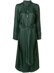 Ginger And Smart Sonorous Shirt Dress Green