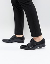 Ted Baker Peair Leather Derby Shoes In Black Black