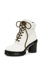 Marc Jacobs Crosby Hiking Boots White