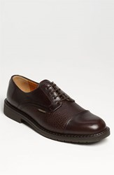 Men's Mephisto 'Melchior' Cap Toe Derby Black Leather