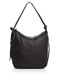 Dkny Medium Hobo Black Black