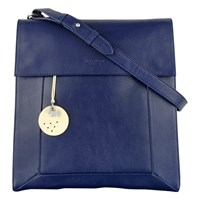 Radley Border Leather Cross Body Bag