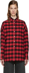 6397 Red Flannel Buffalo Check Lori Shirt