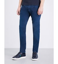 Replay Anbass Hyperflex Slim Fit Skinny Jeans Blue