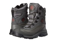 Columbia Bugaboot Plus Iii Omni Heat Charcoal Bright Red Men's Cold Weather Boots Gray