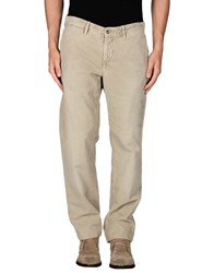 Incotex Red Trousers Casual Trousers Men Beige