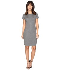 Culture Phit Germaine Ribbed Bodycon Sweater Dress Grey Women's Dress Gray