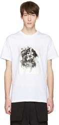 Public School White Kissen T Shirt