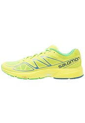 Salomon Sonic Aero Neutral Running Shoes Lime Green Lime Punch Classic Green Light Green