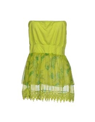 Fracomina Tube Tops Acid Green