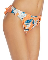 Minkpink Enchanted Forest Ruffle Bikini Bottom Multi