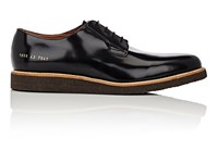 Common Projects Wedge Sole Derbys Black